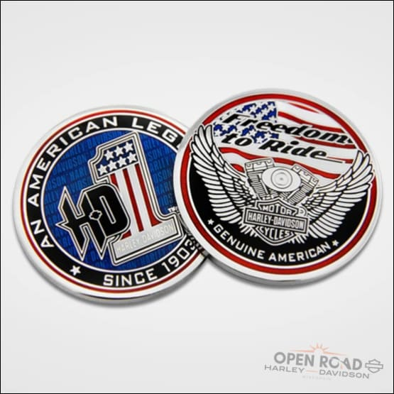 H-D® American Legend Challenge Coin - 8008482 - Collectible
