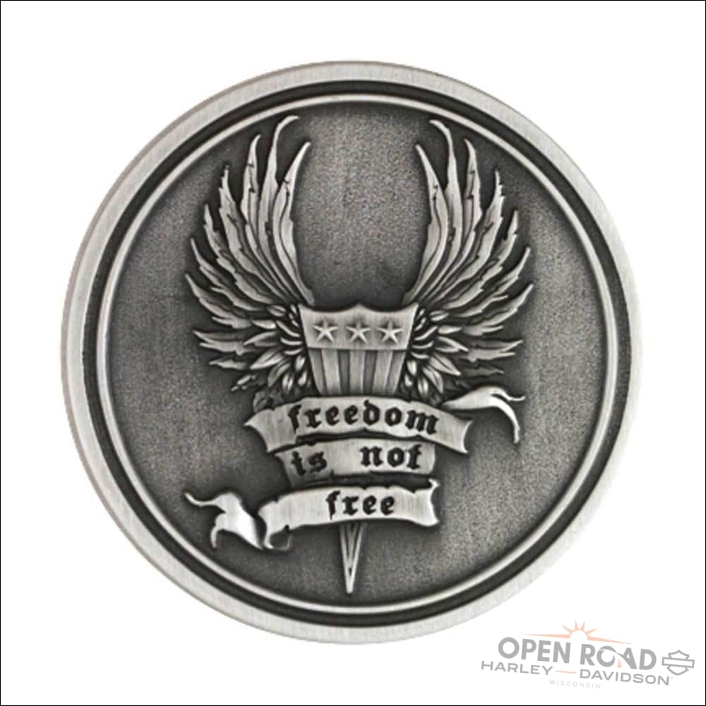 H-D® Challenge Coin Freedom Is Not Free -8003135 - Collectible