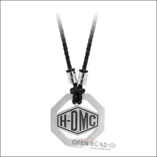 H-D® Men's Engraved H-D Octagon Necklace-HSN0048-22 - Jewelry