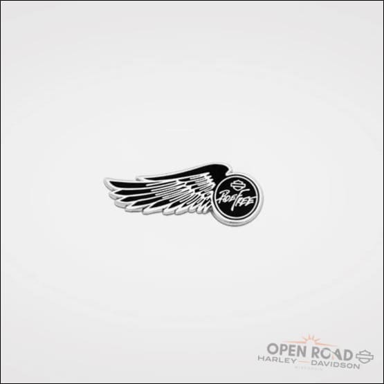H-D® Ride Free Wing Pin - 8009557 - Patches Pins & Magnets