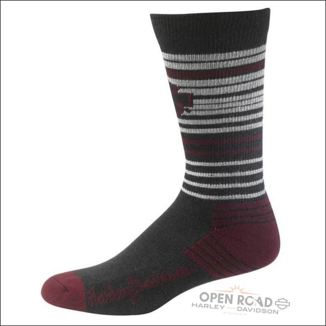 H-D® Women's Merino Xtreme Performance Socks-Burgundy - Socks