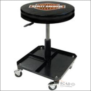 Harley-Davidson® Bar & Shield Shop Stool - 4766 - Auto