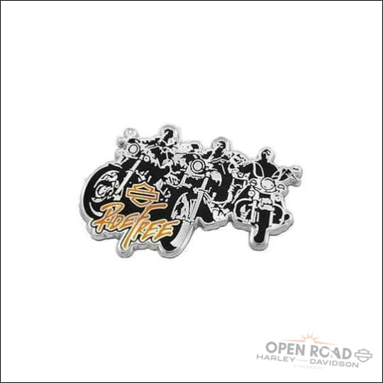 HARLEY-DAVIDSON® Ride Free Bikes Pin- 8009717 - Patches Pins & Magnets