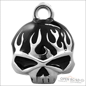 Harley-Davidson® Skull Flame Ride Bell - HRB039 - Ride Bell