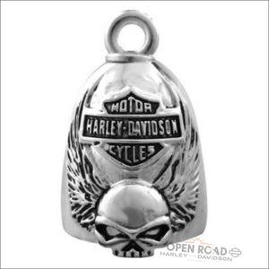 Harley-Davidson® Winged Skull Bar & Shield Ride Bell- HRB038 - Bell
