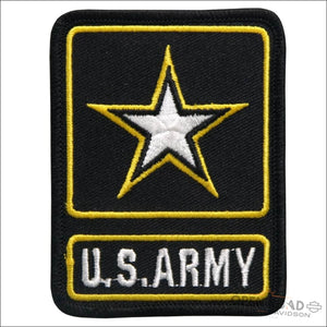 Hot Leathers US Army Star Logo Military Patches - Pins & Magnets