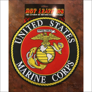 Hot Leathers USMC Marines Military Patches - Pins & Magnets