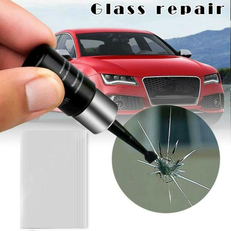 Car Windshield Glass Repair Fluid Scratch Crack Set