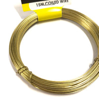 Wire Soft Gold 15m