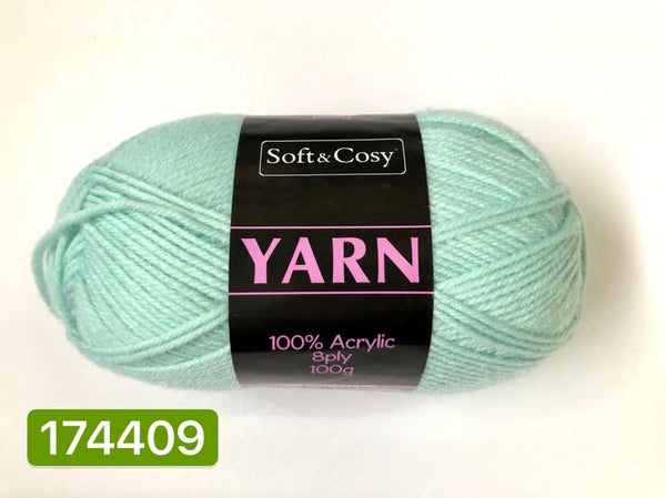 Knitting Yarn Mint 100g
