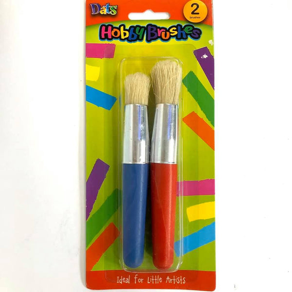 Kids Brushes Chubby 2pc