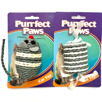 Cat Toy Sisal Mouse / Cylinder