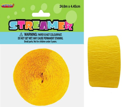 Streamer 24m Yellow