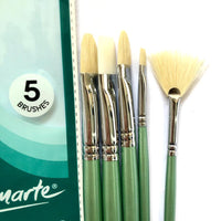 Brush Set Gallery Oil 5pc