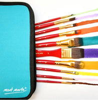 Watercolour Brush Set in Wallet 11pce