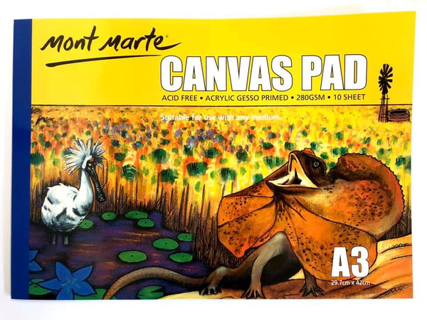 Canvas Pad A3