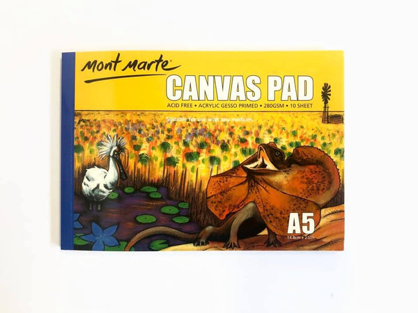 Canvas Pad A5