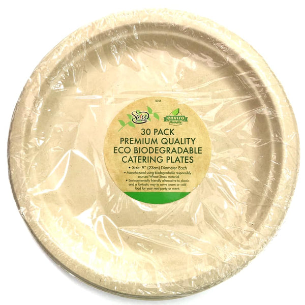 Enviro ECO Disposable Dinner Plate 23cm 30pk