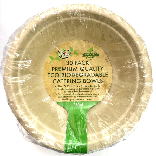 Enviro ECO Disposable Bowl 350ml 30pk