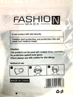 Health Mask Fashion 7 Asst Colours