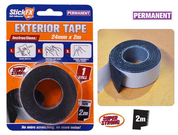StickFX Double Sided Tape Exterior 24mm x 2m
