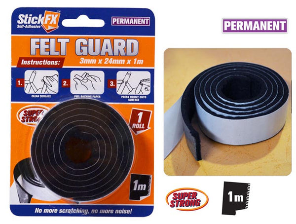 StickFX Felt Guard Roll 24mm x 1m