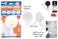 StickFX Suction Hooks 1pk Lrg 10cm