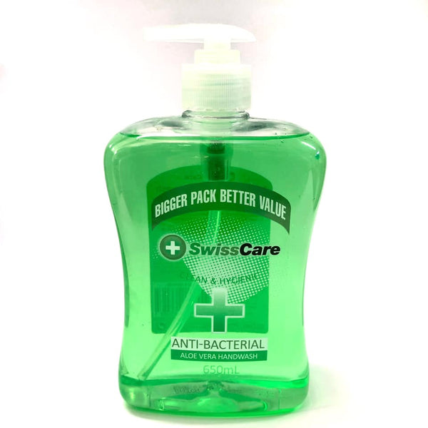 Anti-bacterial Liquid Soap 650ml Aloe Vera