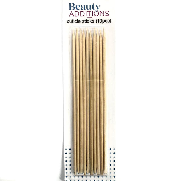 XXX Cuticle Sticks Wooden 18cm 10pk