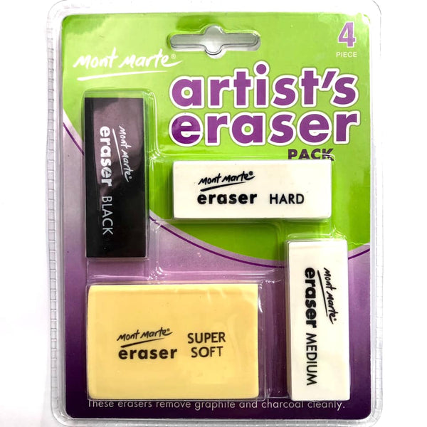 Artists Erasers 4pce