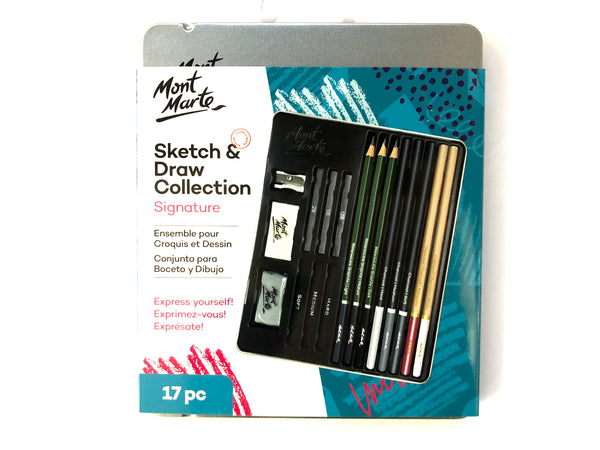 Sketch And Draw Collection 17pc