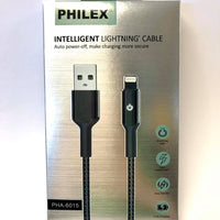 PHILEX Lightning IPhone Cable --Auto Power Off