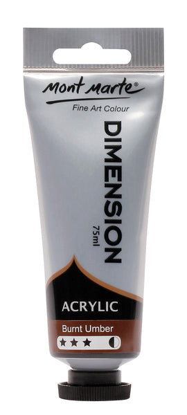 Paint Dimension 75ml Burnt Umber