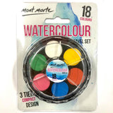Paint Set - Watercolour Travel Set 18 Colours