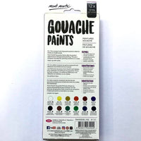 Paint Set Gouache 12pc x 12ml