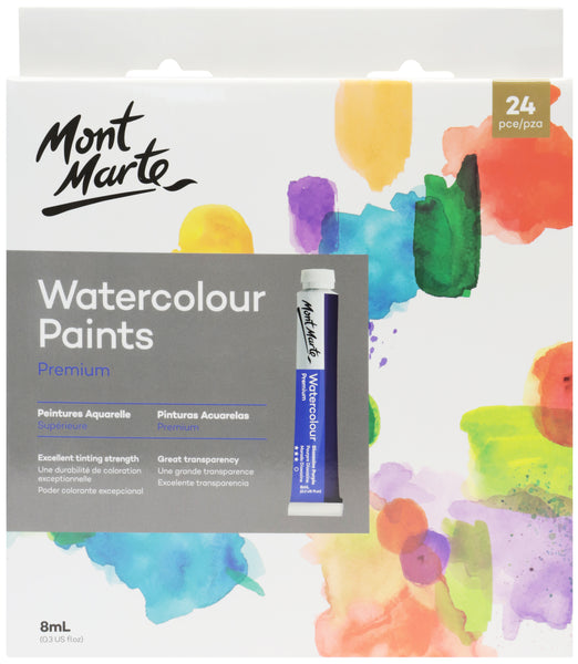 XX Watercolour Paint Set Premium 24pce x 8ML