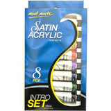Paint Set Intro Acrylic Satin 8pce x 18ml