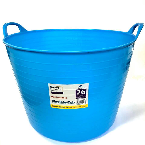 Storage Tub Flexible Large 26L