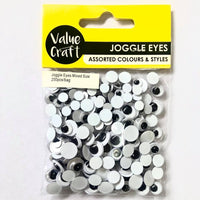 Joggle Eyes Mixed 200pcs