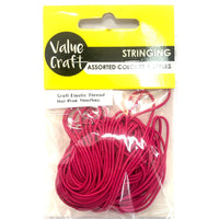 Elastic Thread Hot Pink 10m