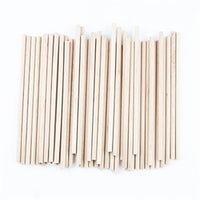 Wooden Sticks 10cm Natural 50pk