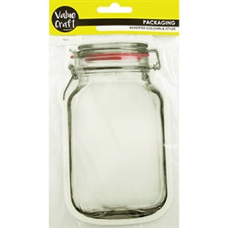 Zip Lock Bags Clear Mason Jar 4pcs