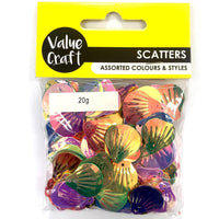 Craft Scatters Shells Holgraphic 20g*