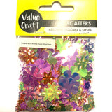 Craft Scatters Flower Holgraphic 20g
