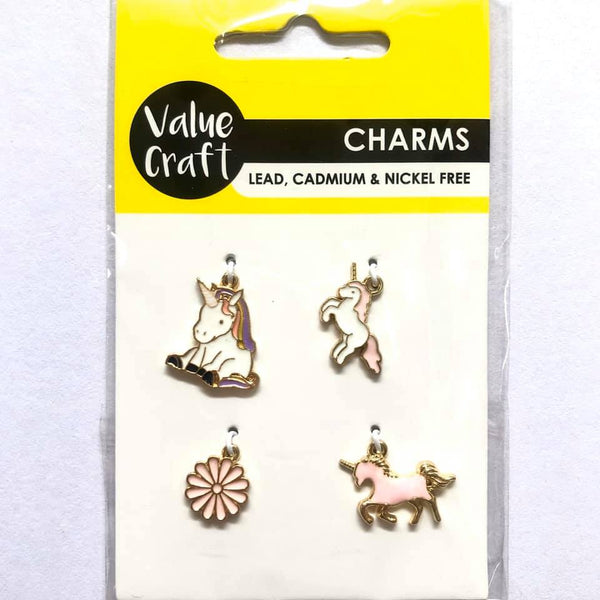 Charm Unicorn 4pcs