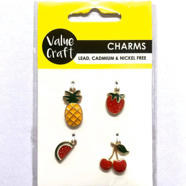Charm Fruit 4pcs