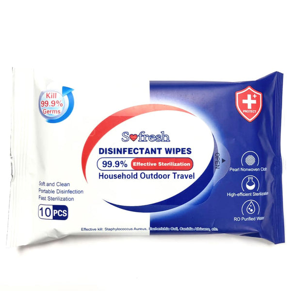 Disinfectant Wipes 10pk