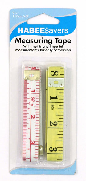 Measuring Tape 150cm 2pk
