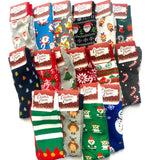 Xmas Adults Socks Novelty Style (Christmas Charm)