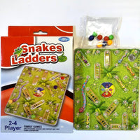 Board Games Snakes And Ladders